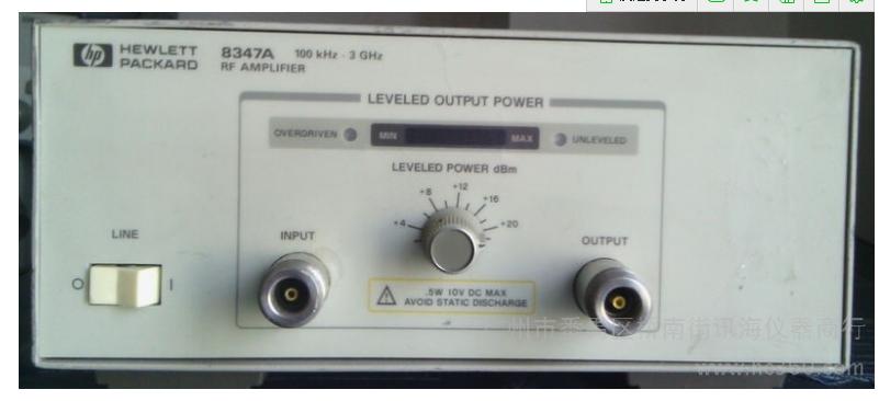 供应二手惠普HP-8347A放大器
