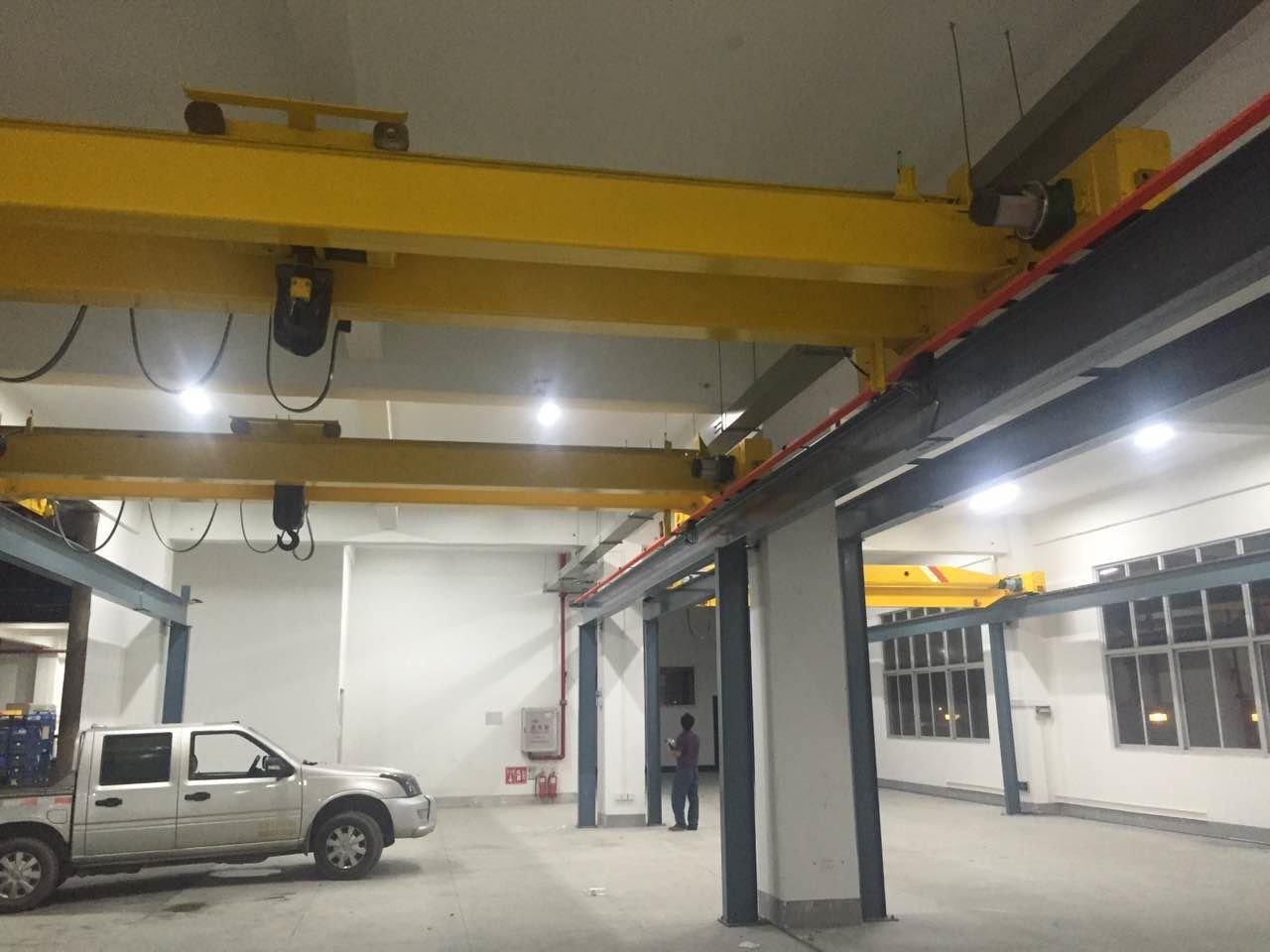 直销lh欧式电动葫芦双梁桥式起重机/16吨吊钩低净空