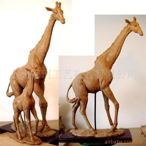 精美动物雕塑泥塑雕塑珠海专业雕塑厂家直销供应价格