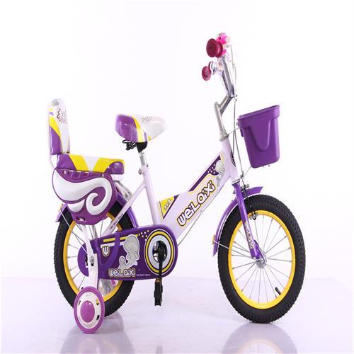 厂家直销12寸14寸16寸高档儿童脚踏自行车男女款