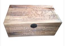 复古收纳箱 储物箱 整理箱 樟木箱