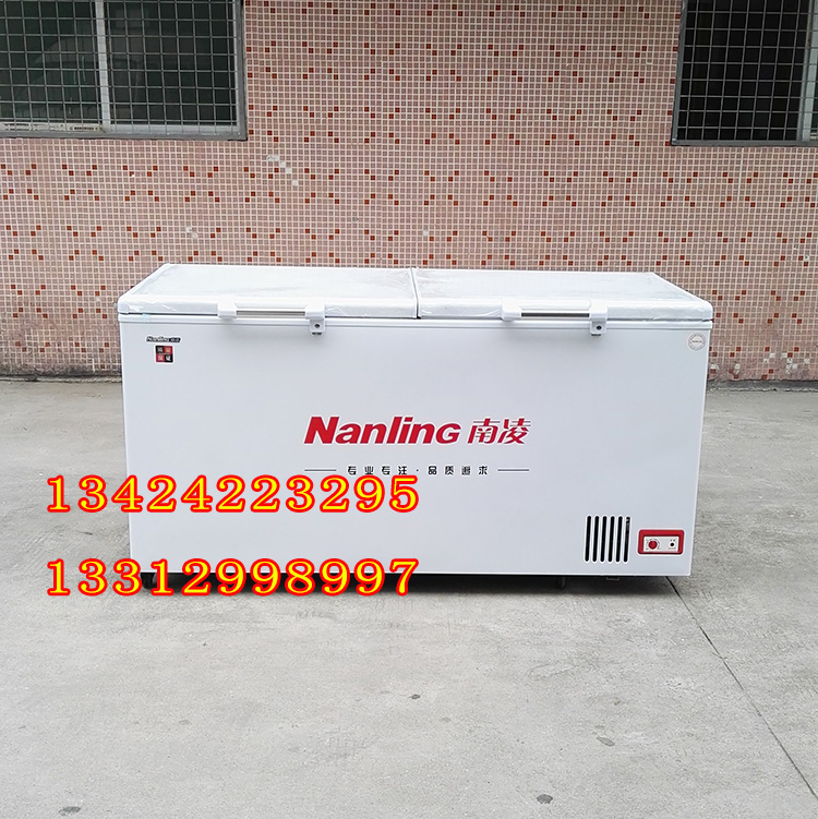 南凌冷柜 BD-510A BD-638A BD-738A 贮藏柜.肉类茶叶冷冻顶盖双门柜