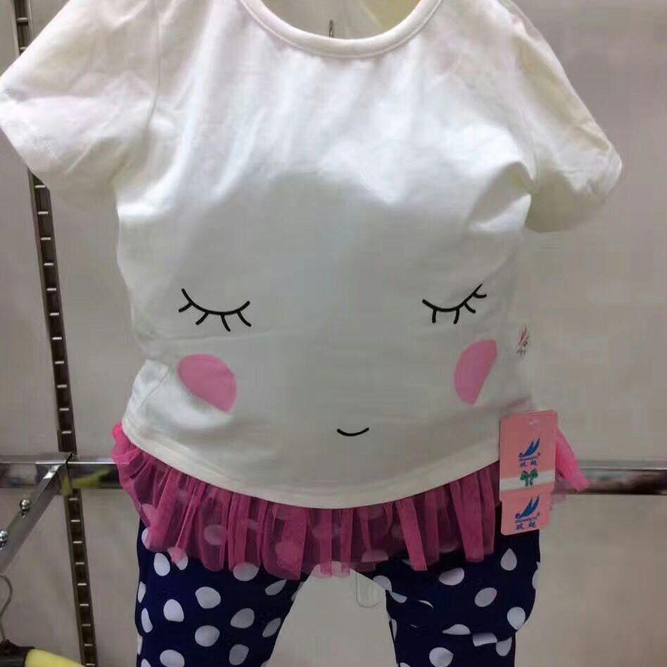 厂家直销  儿童套装 夏装 优惠直销