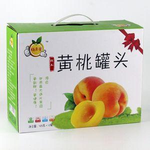 砀山黄桃罐头 砀果蜜 黄桃罐头