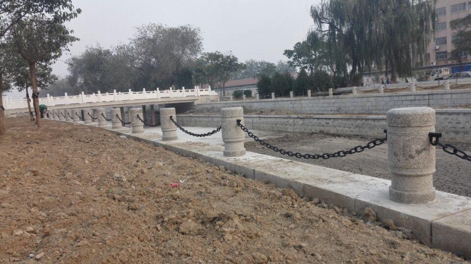 海边石柱塑钢防护链景观链条防锈耐腐蚀护栏铁链价格