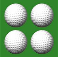 供应 宁波高尔夫双层练习球