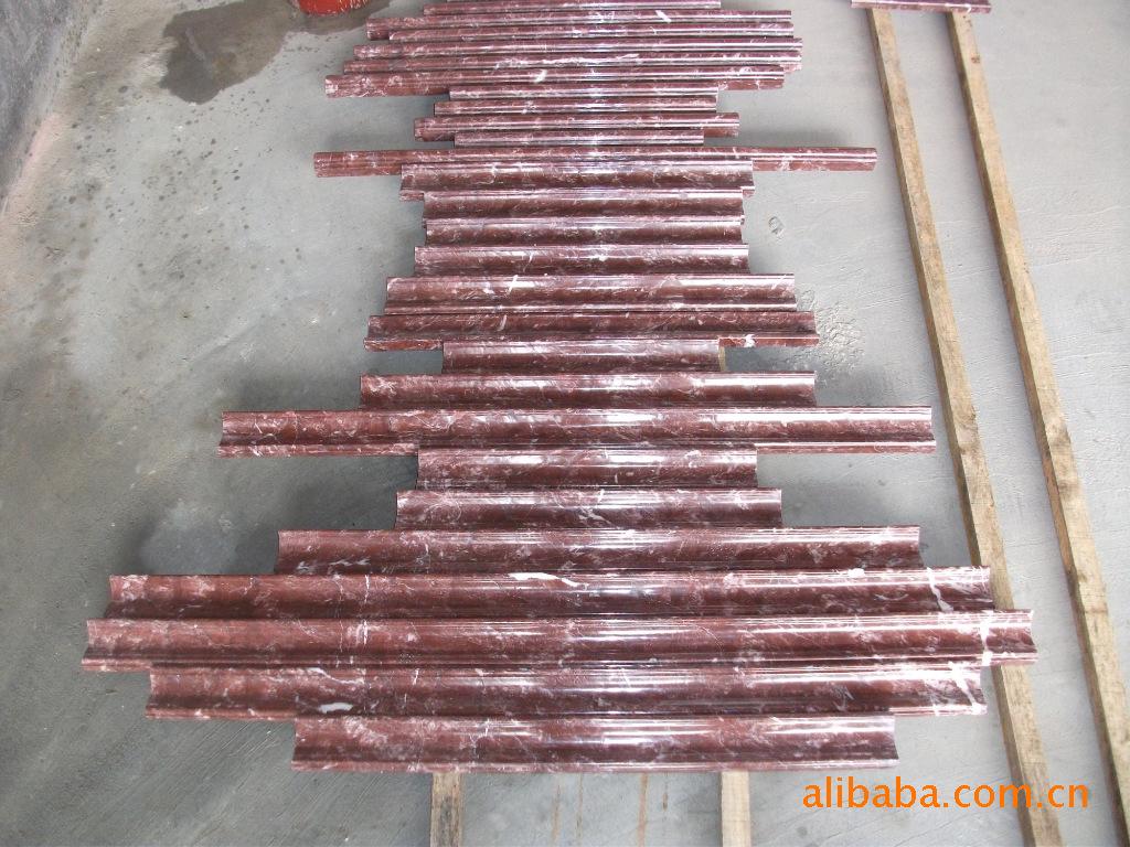 中国传统文化精髓的浅啡网大理石门套背景墙框石线