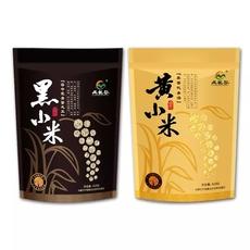 藏龙谷自然优选|内蒙古赤峰特产有机杂粮养胃黑   黄小米组合