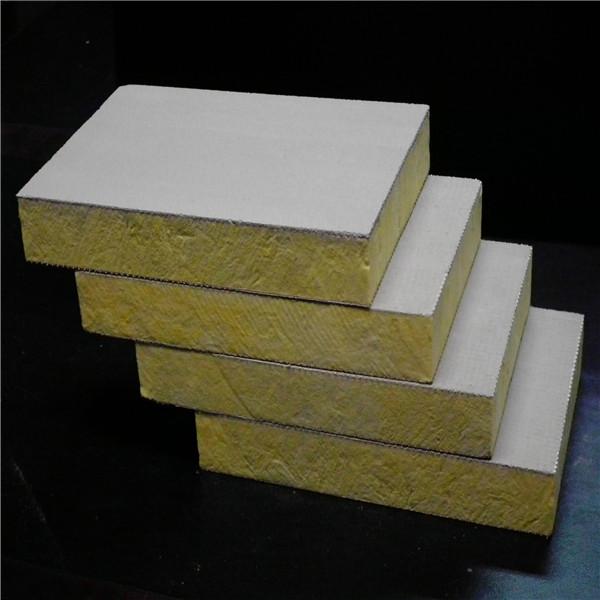【洛格威】防火岩棉复合板  高强度玄武岩棉板  硬质隔音岩棉板