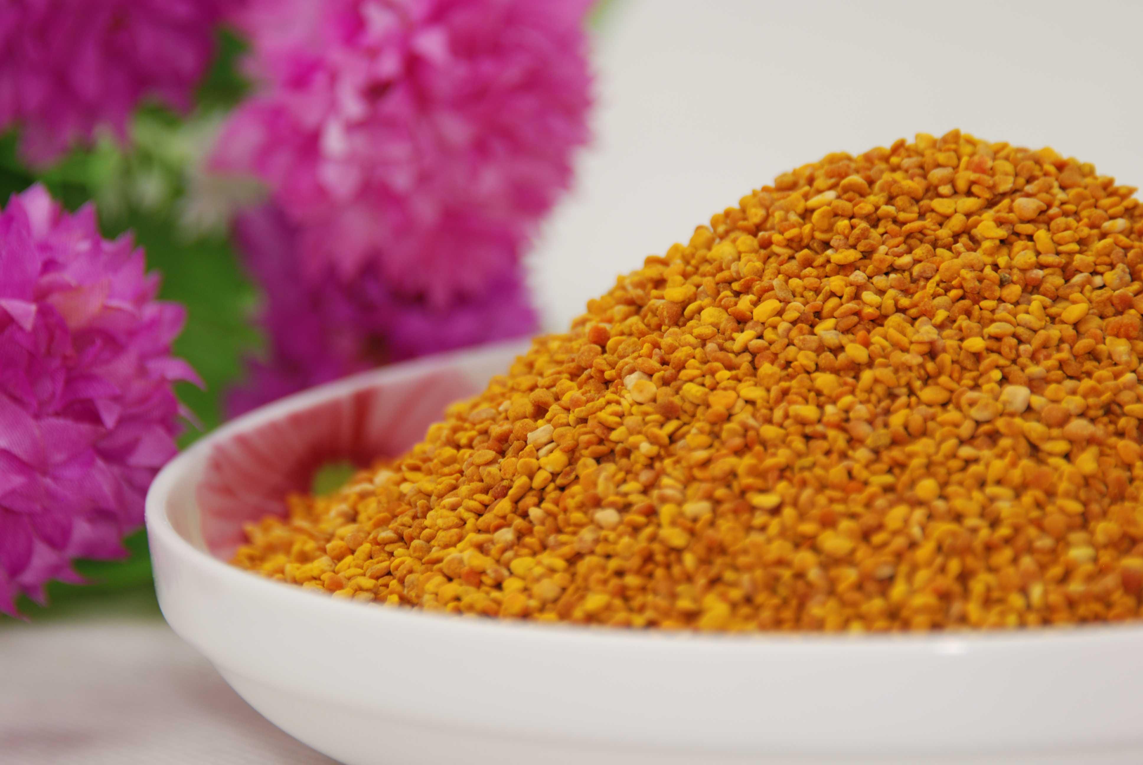 来自陕西秦岭众天蜂花粉