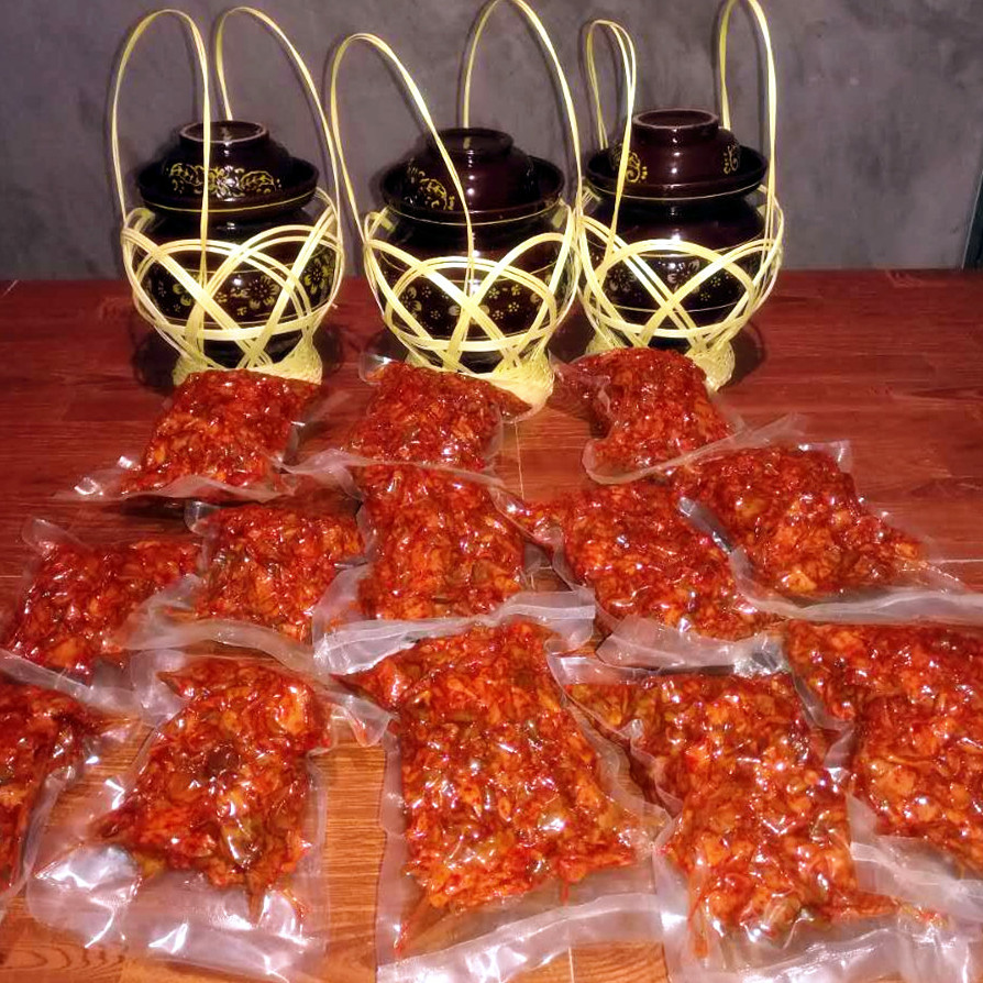 榨菜系列  庙垭老咸菜2500g 超值优惠价100元