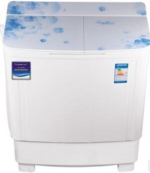 供应 双桶家用半自动8.6KG洗衣机 大容量洗脱两用大功率 带甩干洗衣机