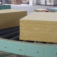 鸿尚外墙岩棉板生产商 供应优质手工玻镁岩棉净化板  A级防火外墙保温板复合岩棉板