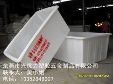 厂家直销:防腐蚀易清洗方桶 耐酸碱方形养鱼箱 推布车塑胶方桶