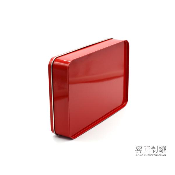 厂家定做 长方形开窗铁盒 茶叶铁盒 礼品铁盒图片