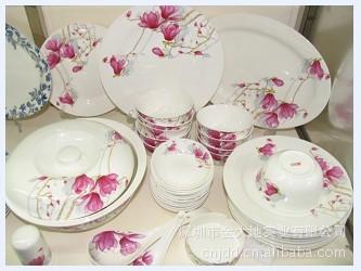 中国风陶瓷贴花餐具