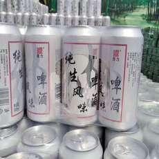 供应500毫纯生易拉罐啤酒