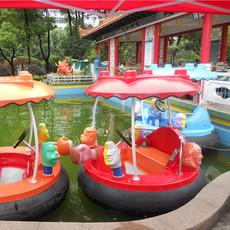 【厂家直销】水上游乐设备—沙滩船 海战船 休闲船 电动船