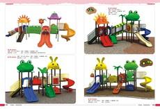 厂家热销新款儿童塑料滑梯  幼儿园室内外大型滑梯