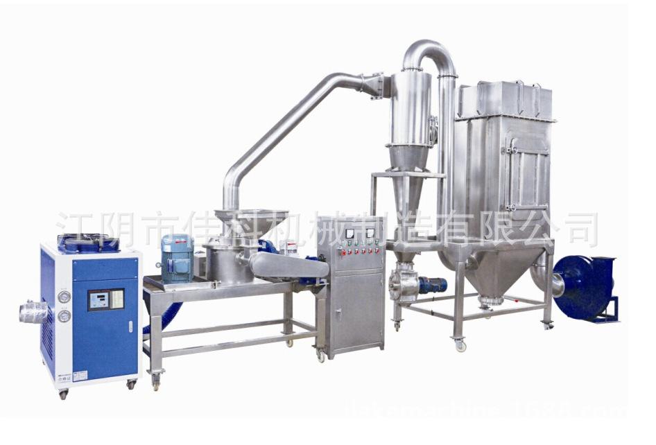 【黄精超微粉碎机】低温粉碎 500目超细磨粉机 PLC控制 技术先进