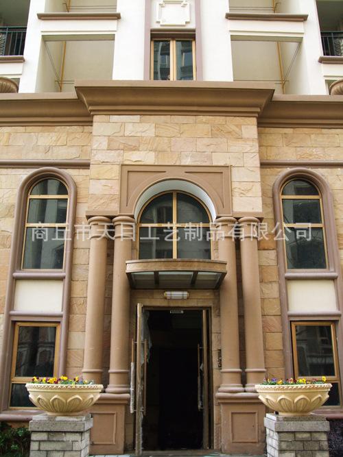 供应欧式水泥构件grc外墙装饰线条价格–中国网库