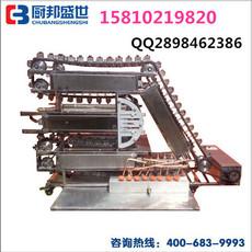 链式烤排骨串的机器|链条式无烟烧烤机|韩国叉烧排骨串机|大型自动烧烤机器