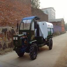 厂家直销湖南小型四驱盘式拖拉机垃圾清运车折腰式小型垃圾车