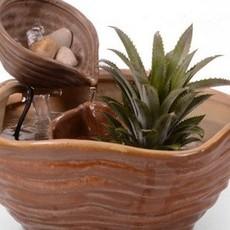 陶瓷流水器 喷泉 家具创意装饰品 鱼缸流水喷泉