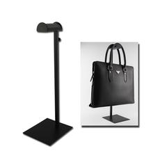 鑫宗师 不锈钢黑色烤漆挂包架 手袋展示架 皮具陈列道具 挂包包架