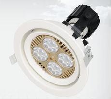 厂家直供 嵌入式PAR30射灯35W 30W40WLED天花灯