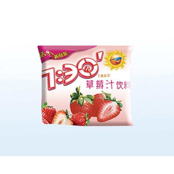 阳光七点半草莓汁饮料