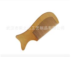 生产销售 桃木梳子 木梳子定做 质量可靠 价格优惠