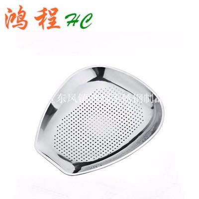 不锈钢筲箕 带磁无磁不锈钢筲箕 家用洗米筛沥水盆