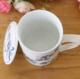 供应新中式创意纯手工彩绘有柄陶瓷杯情侣杯陶瓷有盖杯茶杯马克定做