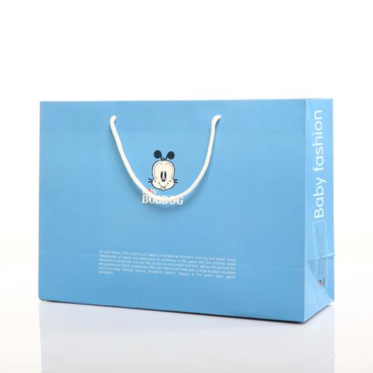 独家定做纸袋 白色服装手提袋 定制纸质礼品袋印刷LOGO