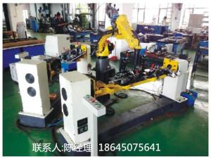 汽车摆臂焊接机器人工作站