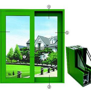 供应龙铝铝业重型推拉窗