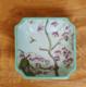 供应新中式创意家用四方果盆现代手绘陶瓷水果碗时尚家居日用餐厅果篓