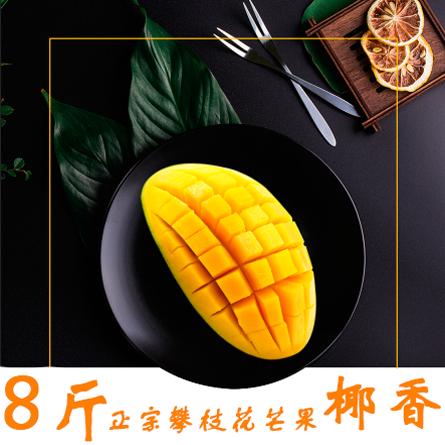 攀枝花芒果 源美村 优质椰香8斤装 独特椰奶香味的芒果