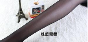 防勾丝显瘦性感黑色透明连裤袜