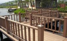 Q河南省平顶山市木塑护栏,木塑地板,木塑阳台栏杆,木塑花箱花架,木塑公园椅,木塑垃圾箱
