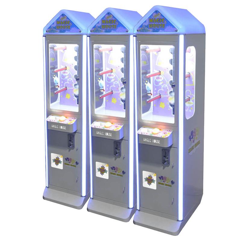 魔法小屋自动公仔机微信支付小型娃娃机礼品机小魔星投币游戏机