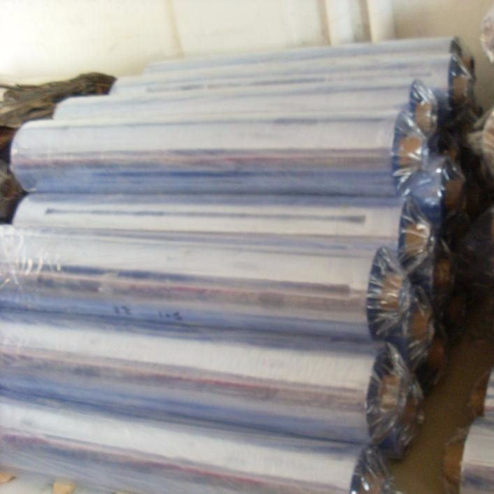 供应PVC PVC塑片全新透明卷材料