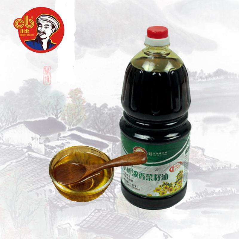 供应 小榨浓香菜籽油 批发供销 川北凉粉 1.8L
