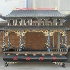 供应大型寺庙铁香炉  现货高3.8米八龙柱铁香炉 河北树林铜雕工艺品