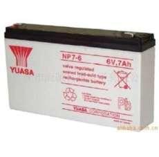 6V7.0AH 汤浅YUASA 免维护铅酸蓄电池 NP7-6