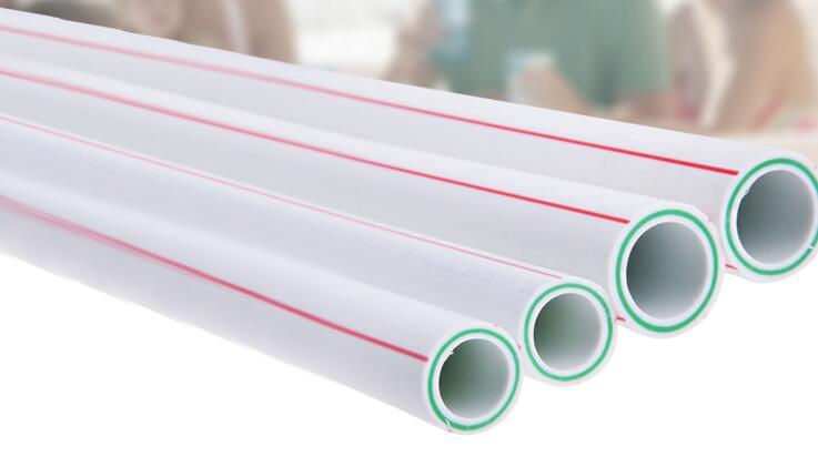 供应白色PPR纤维复合冷热水通用型水管