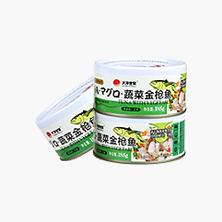 大洋世家蔬菜金枪鱼罐头185g 鲔鱼 吞拿鱼罐头拌饭菜