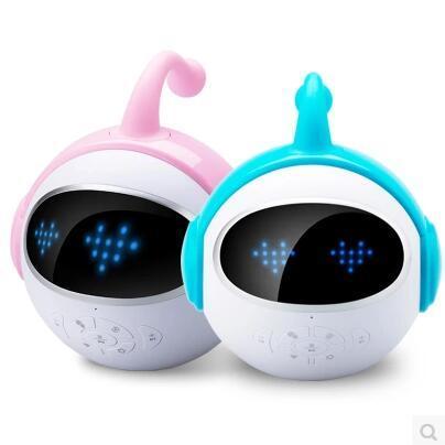 智能早教机器人 儿童陪伴聊天语音学习玩具对话男女智伴小胖班尼