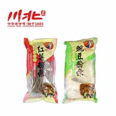 供应【川北】特产农家手工粉丝6袋组合装  红薯粉条包 豌豆粉丝包  方便细粉条食品